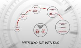 METODO DE VENTAS