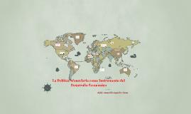 La Política Arancelaria como Instrumento del Desarrollo Econ