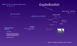 Copy of Capitalization