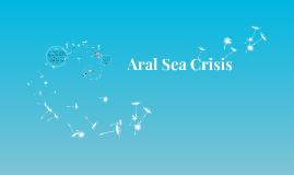 Aral Sea Crisis