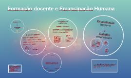 Formação docente e Emancipação Humana