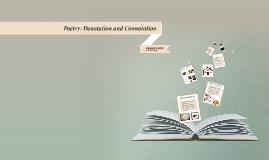Poetry: Denotation and Connotation
