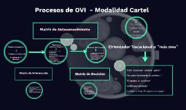Proceso de O.V.O.: Matrices y Técnicas