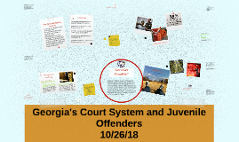 Georgia's Court System and Juvenile Offenders
