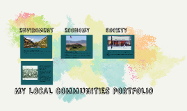 MY LOCAL COMMUNITIES PORTFOLIO