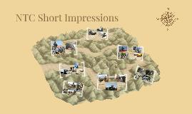 NTC Short Impressions