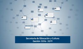 Secretaría de Educación y Cultura
