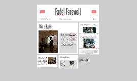 Fadel Farewell