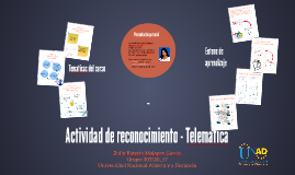 Actividad de reconocimiento - Telematica
