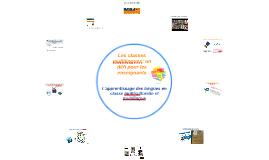 Les classes multilingues: un défi pour les enseignants