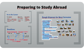 Preparing to Study Abroad (Fall)