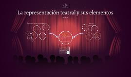 Copy of La representación teatral y sus elementos