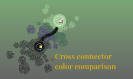 Cross connector color comparison
