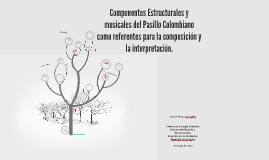 Copy of Componentes Estructurales y musicales del Pasillo Colombiano