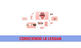 CONOCIENDO LA LENGUA