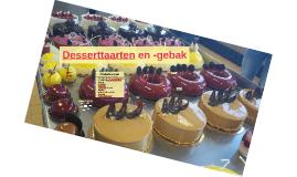 Desserttaarten en -gebak