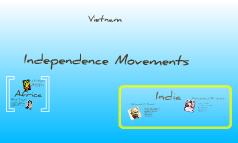 Independance Movements