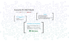 Scenario #1: M&T Bank