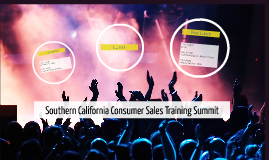 Southern California Consumer Sales Training Summit