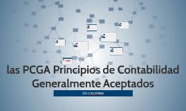 las PCGA principios de contabilidad