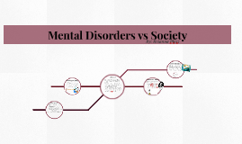 Mental Disorders Vs. Society