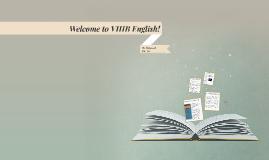 Welcome to VIIIB English!