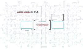 Ações Sociais do DCE