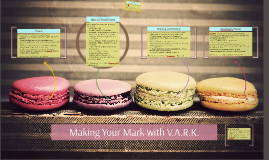 Making Your Mark with V.A.R.K. UPDATED