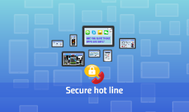 Secure hot line