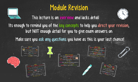 Module Revision