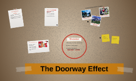 The Doorway Effect