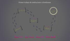 Copy of Primer trabajo de instituciones colombianas