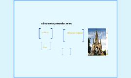 cómo crear presentaciones