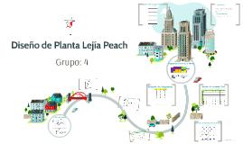 Diseño de Planta Lejía Peach