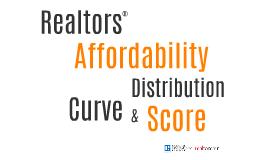 Realtors Affordability Distribution&Score
