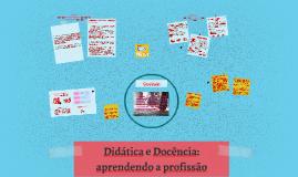 Copy of Didática e Docência: aprendendo a profissão