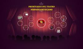 Prontuario del Teatro  Hispanoamericano