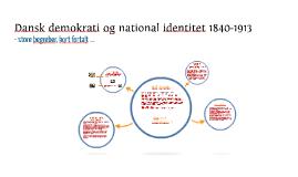 """"""" Danskhed og demokrati"""""""