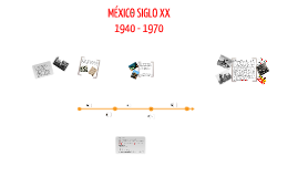 Copy of México siglo XX 1940 - 1970
