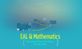 Copy of EAL & Maths