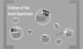 Children and the Great Depression