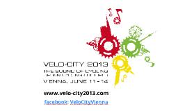Velo-city 2013 Vienna_Allgemeine Info_DE_20130320