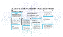 Copy of Chapter 5: Best Practices in Human Resources Management