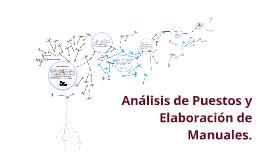 Copy of Análisis de Puestos y Elaboración de Manuales.