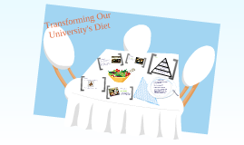 Transforming Our University's Diet