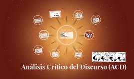 Análisis Crítico del Discurso