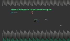 Teacher Education Advancement Program