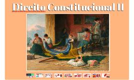 Direito Constitucional II - Organização do Estado