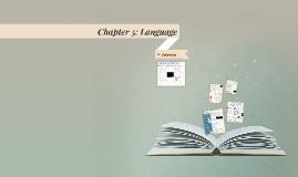 AP Geography Chapter 5: Language