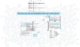 Copy of Técnicas de distribucion de oficinas